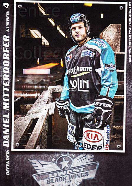 2015-16 EBEL EHC Liwest Black Wings Linz Postcards #21 Daniel Mitterdorfer<br/>2 In Stock - $3.00 each - <a href=https://centericecollectibles.foxycart.com/cart?name=2015-16%20EBEL%20EHC%20Liwest%20Black%20Wings%20Linz%20Postcards%20%2321%20Daniel%20Mitterdo...&quantity_max=2&price=$3.00&code=659805 class=foxycart> Buy it now! </a>
