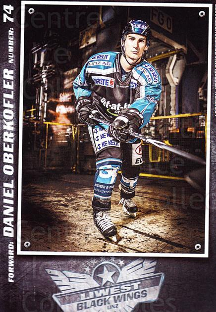 2015-16 EBEL EHC Liwest Black Wings Linz Postcards #23 Daniel Oberkofler<br/>2 In Stock - $3.00 each - <a href=https://centericecollectibles.foxycart.com/cart?name=2015-16%20EBEL%20EHC%20Liwest%20Black%20Wings%20Linz%20Postcards%20%2323%20Daniel%20Oberkofl...&quantity_max=2&price=$3.00&code=659807 class=foxycart> Buy it now! </a>