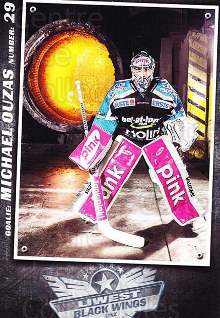 2015-16 EBEL EHC Liwest Black Wings Linz Postcards #24 Michael Ouzas<br/>1 In Stock - $3.00 each - <a href=https://centericecollectibles.foxycart.com/cart?name=2015-16%20EBEL%20EHC%20Liwest%20Black%20Wings%20Linz%20Postcards%20%2324%20Michael%20Ouzas...&quantity_max=1&price=$3.00&code=659808 class=foxycart> Buy it now! </a>