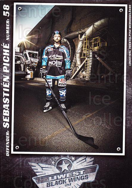 2015-16 EBEL EHC Liwest Black Wings Linz Postcards #27 Sebastien Piche<br/>2 In Stock - $3.00 each - <a href=https://centericecollectibles.foxycart.com/cart?name=2015-16%20EBEL%20EHC%20Liwest%20Black%20Wings%20Linz%20Postcards%20%2327%20Sebastien%20Piche...&quantity_max=2&price=$3.00&code=659811 class=foxycart> Buy it now! </a>