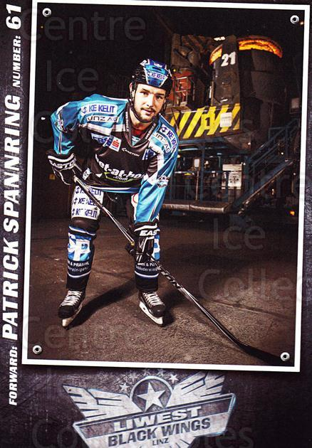 2015-16 EBEL EHC Liwest Black Wings Linz Postcards #28 Patrick Spannring<br/>2 In Stock - $3.00 each - <a href=https://centericecollectibles.foxycart.com/cart?name=2015-16%20EBEL%20EHC%20Liwest%20Black%20Wings%20Linz%20Postcards%20%2328%20Patrick%20Spannri...&quantity_max=2&price=$3.00&code=659812 class=foxycart> Buy it now! </a>