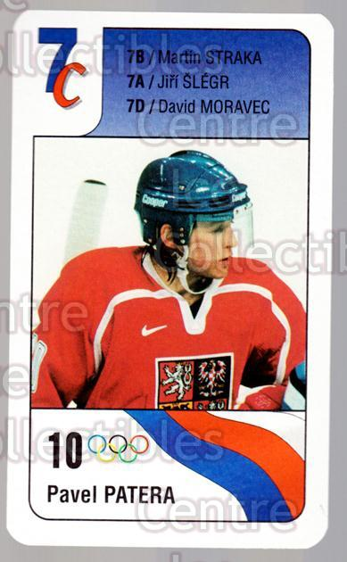 1998-99 Czech Bonaparte National Team #7C Pavel Patera<br/>8 In Stock - $2.00 each - <a href=https://centericecollectibles.foxycart.com/cart?name=1998-99%20Czech%20Bonaparte%20National%20Team%20%237C%20Pavel%20Patera...&quantity_max=8&price=$2.00&code=65984 class=foxycart> Buy it now! </a>