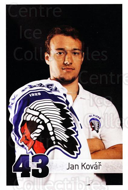 2011-12 Czech HC Plzen Postcards #15 Jan Kovar<br/>2 In Stock - $3.00 each - <a href=https://centericecollectibles.foxycart.com/cart?name=2011-12%20Czech%20HC%20Plzen%20Postcards%20%2315%20Jan%20Kovar...&quantity_max=2&price=$3.00&code=659853 class=foxycart> Buy it now! </a>