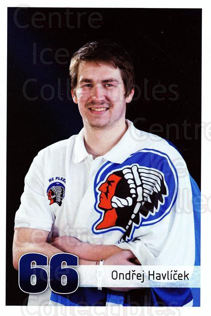 2011-12 Czech HC Plzen Postcards #18 Ondrej Havlicek<br/>2 In Stock - $3.00 each - <a href=https://centericecollectibles.foxycart.com/cart?name=2011-12%20Czech%20HC%20Plzen%20Postcards%20%2318%20Ondrej%20Havlicek...&quantity_max=2&price=$3.00&code=659856 class=foxycart> Buy it now! </a>