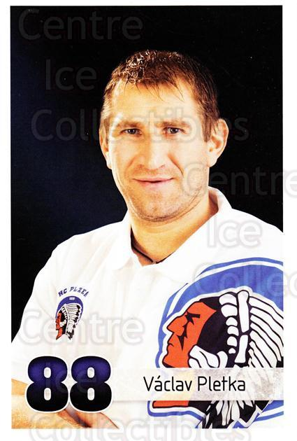 2011-12 Czech HC Plzen Postcards #22 Vaclav Pletka<br/>1 In Stock - $3.00 each - <a href=https://centericecollectibles.foxycart.com/cart?name=2011-12%20Czech%20HC%20Plzen%20Postcards%20%2322%20Vaclav%20Pletka...&quantity_max=1&price=$3.00&code=659860 class=foxycart> Buy it now! </a>