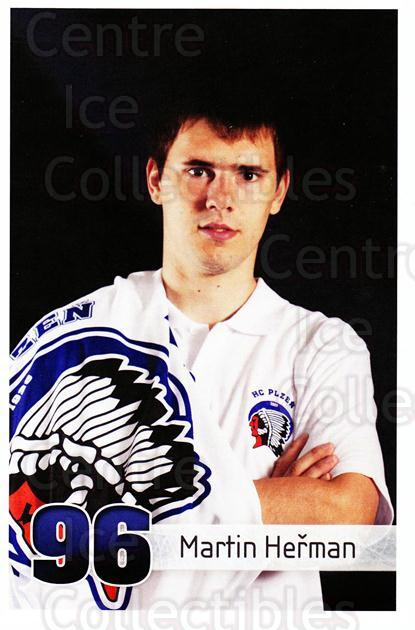 2011-12 Czech HC Plzen Postcards #24 Martin Herman<br/>2 In Stock - $3.00 each - <a href=https://centericecollectibles.foxycart.com/cart?name=2011-12%20Czech%20HC%20Plzen%20Postcards%20%2324%20Martin%20Herman...&quantity_max=2&price=$3.00&code=659862 class=foxycart> Buy it now! </a>