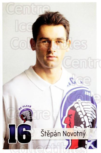 2013-14 Czech HC Plzen Postcards #6 Stepan Novotny<br/>2 In Stock - $3.00 each - <a href=https://centericecollectibles.foxycart.com/cart?name=2013-14%20Czech%20HC%20Plzen%20Postcards%20%236%20Stepan%20Novotny...&quantity_max=2&price=$3.00&code=659871 class=foxycart> Buy it now! </a>