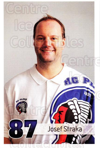 2013-14 Czech HC Plzen Postcards #15 Josef Straka<br/>2 In Stock - $3.00 each - <a href=https://centericecollectibles.foxycart.com/cart?name=2013-14%20Czech%20HC%20Plzen%20Postcards%20%2315%20Josef%20Straka...&quantity_max=2&price=$3.00&code=659880 class=foxycart> Buy it now! </a>