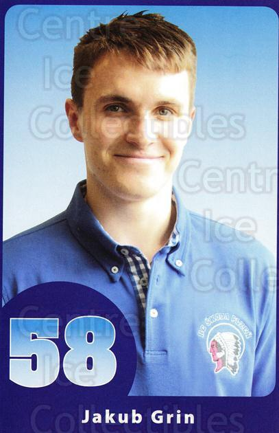 2014-15 Czech HC Plzen Postcards #18 Jakub Grin<br/>2 In Stock - $3.00 each - <a href=https://centericecollectibles.foxycart.com/cart?name=2014-15%20Czech%20HC%20Plzen%20Postcards%20%2318%20Jakub%20Grin...&quantity_max=2&price=$3.00&code=659899 class=foxycart> Buy it now! </a>