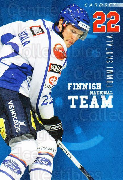 2009-10 Finnish Cardset National Team Series One #6 Tommi Santala<br/>1 In Stock - $3.00 each - <a href=https://centericecollectibles.foxycart.com/cart?name=2009-10%20Finnish%20Cardset%20National%20Team%20Series%20One%20%236%20Tommi%20Santala...&quantity_max=1&price=$3.00&code=659916 class=foxycart> Buy it now! </a>