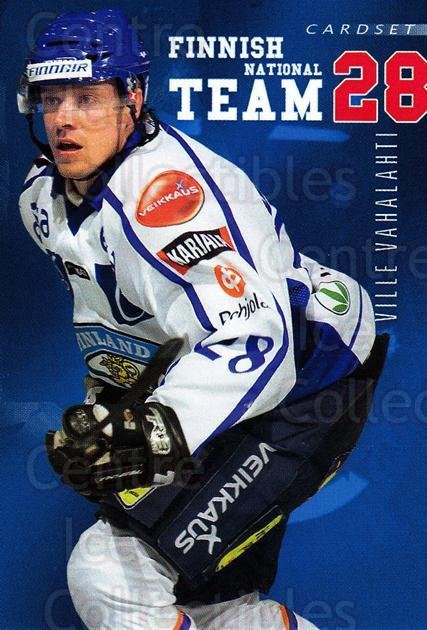 2009-10 Finnish Cardset National Team Series One #9 Ville Vahalahti<br/>1 In Stock - $3.00 each - <a href=https://centericecollectibles.foxycart.com/cart?name=2009-10%20Finnish%20Cardset%20National%20Team%20Series%20One%20%239%20Ville%20Vahalahti...&quantity_max=1&price=$3.00&code=659919 class=foxycart> Buy it now! </a>