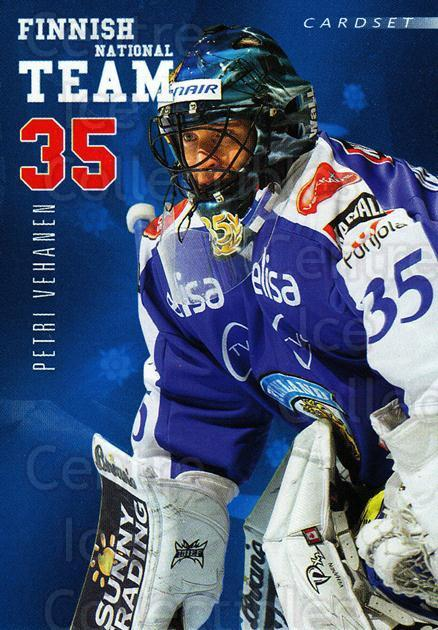 2009-10 Finnish Cardset National Team Series One #13 Petri Vehanen<br/>1 In Stock - $3.00 each - <a href=https://centericecollectibles.foxycart.com/cart?name=2009-10%20Finnish%20Cardset%20National%20Team%20Series%20One%20%2313%20Petri%20Vehanen...&quantity_max=1&price=$3.00&code=659923 class=foxycart> Buy it now! </a>