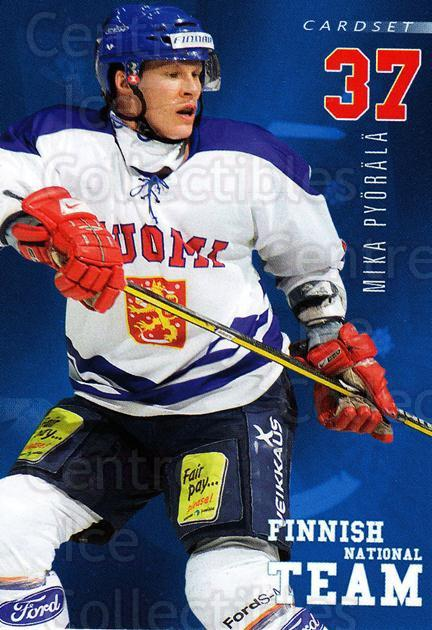 2009-10 Finnish Cardset National Team Series One #14 Mika Pyorala<br/>1 In Stock - $3.00 each - <a href=https://centericecollectibles.foxycart.com/cart?name=2009-10%20Finnish%20Cardset%20National%20Team%20Series%20One%20%2314%20Mika%20Pyorala...&quantity_max=1&price=$3.00&code=659924 class=foxycart> Buy it now! </a>