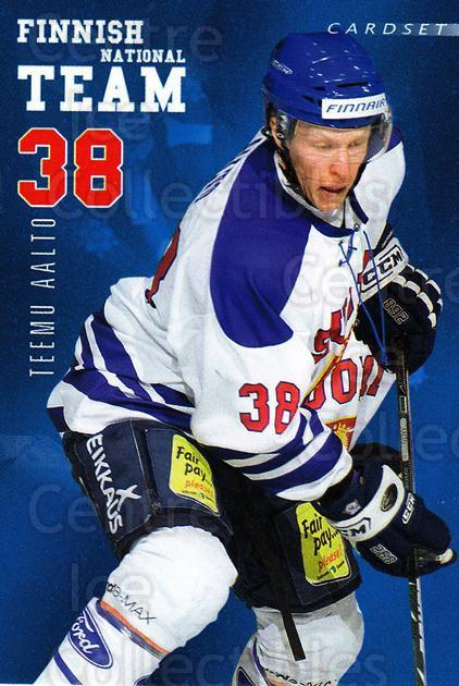 2009-10 Finnish Cardset National Team Series One #15 Teemu Aalto<br/>1 In Stock - $3.00 each - <a href=https://centericecollectibles.foxycart.com/cart?name=2009-10%20Finnish%20Cardset%20National%20Team%20Series%20One%20%2315%20Teemu%20Aalto...&quantity_max=1&price=$3.00&code=659925 class=foxycart> Buy it now! </a>