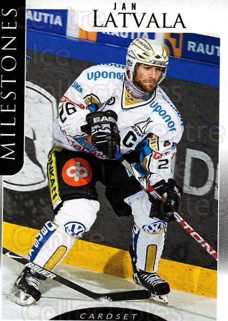 2009-10 Finnish Cardset Milestones #4 Jan Latvala<br/>2 In Stock - $3.00 each - <a href=https://centericecollectibles.foxycart.com/cart?name=2009-10%20Finnish%20Cardset%20Milestones%20%234%20Jan%20Latvala...&quantity_max=2&price=$3.00&code=659977 class=foxycart> Buy it now! </a>