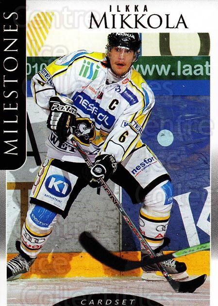 2009-10 Finnish Cardset Milestones #5 Ilkka Mikkola<br/>1 In Stock - $3.00 each - <a href=https://centericecollectibles.foxycart.com/cart?name=2009-10%20Finnish%20Cardset%20Milestones%20%235%20Ilkka%20Mikkola...&quantity_max=1&price=$3.00&code=659978 class=foxycart> Buy it now! </a>