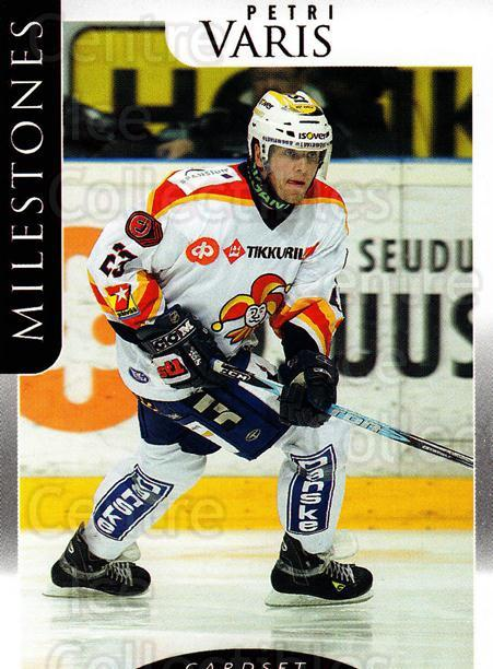 2009-10 Finnish Cardset Milestones #6 Petri Varis<br/>3 In Stock - $3.00 each - <a href=https://centericecollectibles.foxycart.com/cart?name=2009-10%20Finnish%20Cardset%20Milestones%20%236%20Petri%20Varis...&quantity_max=3&price=$3.00&code=659979 class=foxycart> Buy it now! </a>