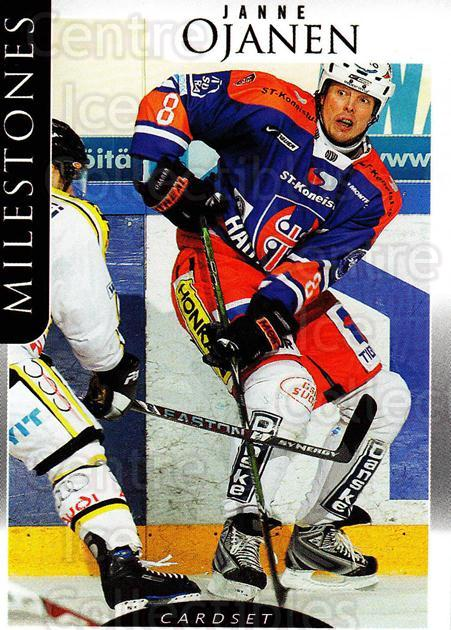 2009-10 Finnish Cardset Milestones #7 Janne Ojanen<br/>2 In Stock - $3.00 each - <a href=https://centericecollectibles.foxycart.com/cart?name=2009-10%20Finnish%20Cardset%20Milestones%20%237%20Janne%20Ojanen...&price=$3.00&code=659980 class=foxycart> Buy it now! </a>