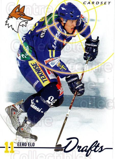 2009-10 Finnish Cardset Drafts #1 Eero Elo<br/>1 In Stock - $3.00 each - <a href=https://centericecollectibles.foxycart.com/cart?name=2009-10%20Finnish%20Cardset%20Drafts%20%231%20Eero%20Elo...&quantity_max=1&price=$3.00&code=659983 class=foxycart> Buy it now! </a>