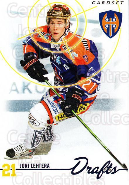 2009-10 Finnish Cardset Drafts #7 Jori Lehtera<br/>1 In Stock - $3.00 each - <a href=https://centericecollectibles.foxycart.com/cart?name=2009-10%20Finnish%20Cardset%20Drafts%20%237%20Jori%20Lehtera...&quantity_max=1&price=$3.00&code=659989 class=foxycart> Buy it now! </a>