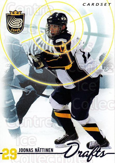 2009-10 Finnish Cardset Drafts #9 Joonas Nattinen<br/>1 In Stock - $3.00 each - <a href=https://centericecollectibles.foxycart.com/cart?name=2009-10%20Finnish%20Cardset%20Drafts%20%239%20Joonas%20Nattinen...&quantity_max=1&price=$3.00&code=659991 class=foxycart> Buy it now! </a>