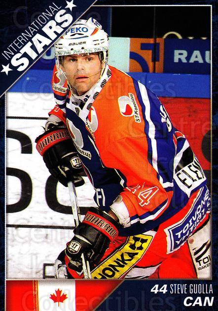 2010-11 Finnish Cardset International Stars Series One #3 Steve Guolla<br/>3 In Stock - $3.00 each - <a href=https://centericecollectibles.foxycart.com/cart?name=2010-11%20Finnish%20Cardset%20International%20Stars%20Series%20One%20%233%20Steve%20Guolla...&quantity_max=3&price=$3.00&code=660076 class=foxycart> Buy it now! </a>