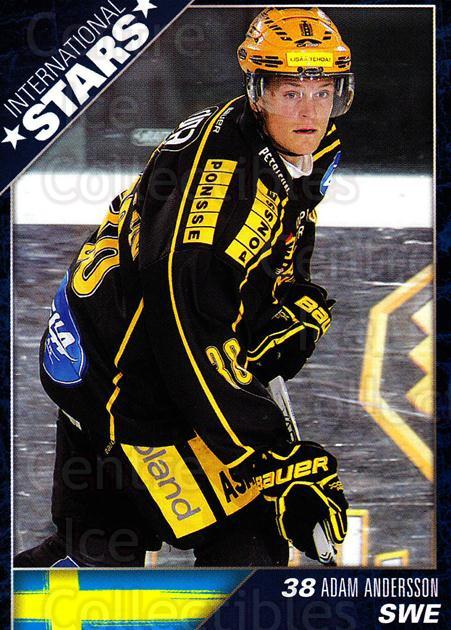 2010-11 Finnish Cardset International Stars Series One #4 Adam Andersson<br/>3 In Stock - $3.00 each - <a href=https://centericecollectibles.foxycart.com/cart?name=2010-11%20Finnish%20Cardset%20International%20Stars%20Series%20One%20%234%20Adam%20Andersson...&quantity_max=3&price=$3.00&code=660077 class=foxycart> Buy it now! </a>