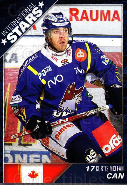 2010-11 Finnish Cardset International Stars Series One #6 Kurtis McLean<br/>3 In Stock - $3.00 each - <a href=https://centericecollectibles.foxycart.com/cart?name=2010-11%20Finnish%20Cardset%20International%20Stars%20Series%20One%20%236%20Kurtis%20McLean...&quantity_max=3&price=$3.00&code=660079 class=foxycart> Buy it now! </a>