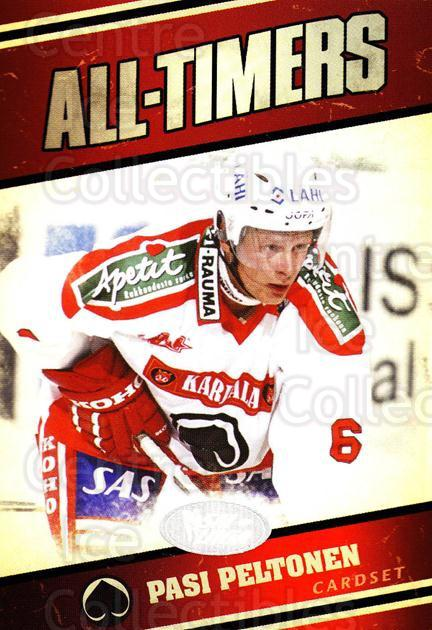 2011-12 Finnish Cardset All-Timers #4 Pasi Peltonen<br/>1 In Stock - $3.00 each - <a href=https://centericecollectibles.foxycart.com/cart?name=2011-12%20Finnish%20Cardset%20All-Timers%20%234%20Pasi%20Peltonen...&quantity_max=1&price=$3.00&code=660213 class=foxycart> Buy it now! </a>