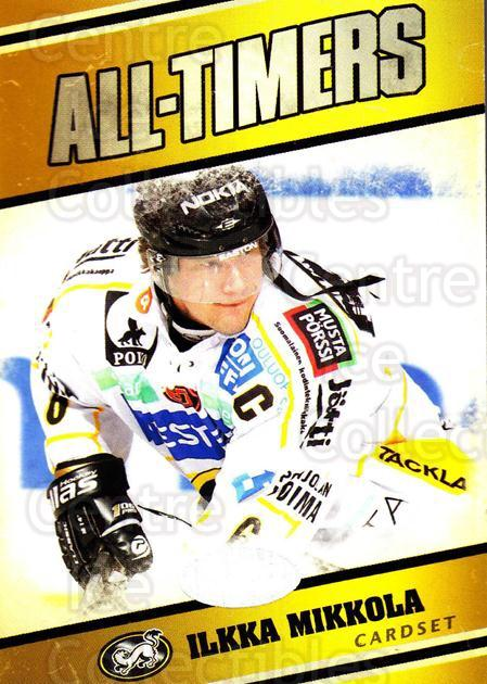 2011-12 Finnish Cardset All-Timers #9 Ilkka Mikkola<br/>1 In Stock - $3.00 each - <a href=https://centericecollectibles.foxycart.com/cart?name=2011-12%20Finnish%20Cardset%20All-Timers%20%239%20Ilkka%20Mikkola...&quantity_max=1&price=$3.00&code=660218 class=foxycart> Buy it now! </a>