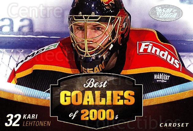 2012-13 Finnish Cardset Best Goalies of 2000's #2 Kari Lehtonen<br/>3 In Stock - $3.00 each - <a href=https://centericecollectibles.foxycart.com/cart?name=2012-13%20Finnish%20Cardset%20Best%20Goalies%20of%202000's%20%232%20Kari%20Lehtonen...&quantity_max=3&price=$3.00&code=660232 class=foxycart> Buy it now! </a>
