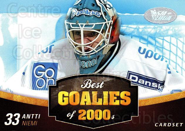 2012-13 Finnish Cardset Best Goalies of 2000's #6 Antti Niemi<br/>3 In Stock - $3.00 each - <a href=https://centericecollectibles.foxycart.com/cart?name=2012-13%20Finnish%20Cardset%20Best%20Goalies%20of%202000's%20%236%20Antti%20Niemi...&quantity_max=3&price=$3.00&code=660236 class=foxycart> Buy it now! </a>