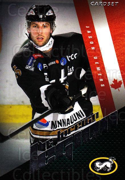 2012-13 Finnish Cardset The Foreign Legion Series Two #19 Jason Demers<br/>3 In Stock - $3.00 each - <a href=https://centericecollectibles.foxycart.com/cart?name=2012-13%20Finnish%20Cardset%20The%20Foreign%20Legion%20Series%20Two%20%2319%20Jason%20Demers...&quantity_max=3&price=$3.00&code=660267 class=foxycart> Buy it now! </a>