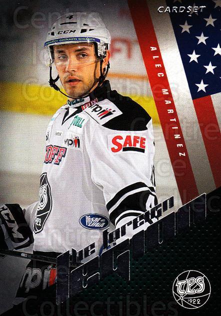 2012-13 Finnish Cardset The Foreign Legion Series Two #22 Alec Martinez<br/>1 In Stock - $3.00 each - <a href=https://centericecollectibles.foxycart.com/cart?name=2012-13%20Finnish%20Cardset%20The%20Foreign%20Legion%20Series%20Two%20%2322%20Alec%20Martinez...&quantity_max=1&price=$3.00&code=660270 class=foxycart> Buy it now! </a>