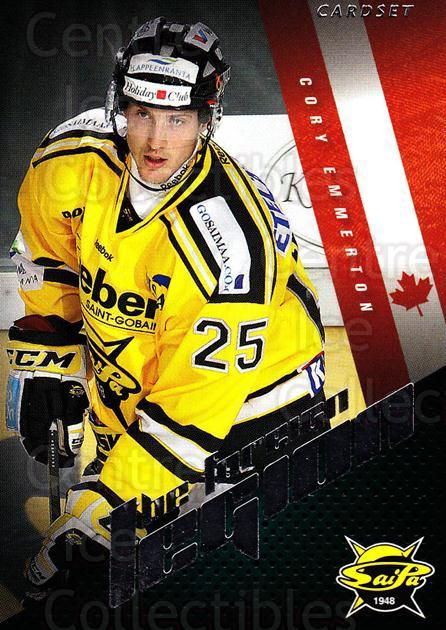 2012-13 Finnish Cardset The Foreign Legion Series Two #23 Cory Emmerton<br/>3 In Stock - $3.00 each - <a href=https://centericecollectibles.foxycart.com/cart?name=2012-13%20Finnish%20Cardset%20The%20Foreign%20Legion%20Series%20Two%20%2323%20Cory%20Emmerton...&quantity_max=3&price=$3.00&code=660271 class=foxycart> Buy it now! </a>
