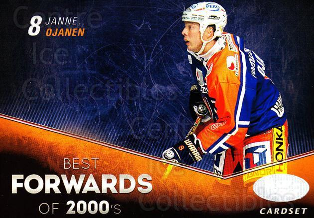 2012-13 Finnish Cardset Best Forwards of 2000's #5 Janne Ojanen<br/>3 In Stock - $3.00 each - <a href=https://centericecollectibles.foxycart.com/cart?name=2012-13%20Finnish%20Cardset%20Best%20Forwards%20of%202000's%20%235%20Janne%20Ojanen...&quantity_max=3&price=$3.00&code=660307 class=foxycart> Buy it now! </a>