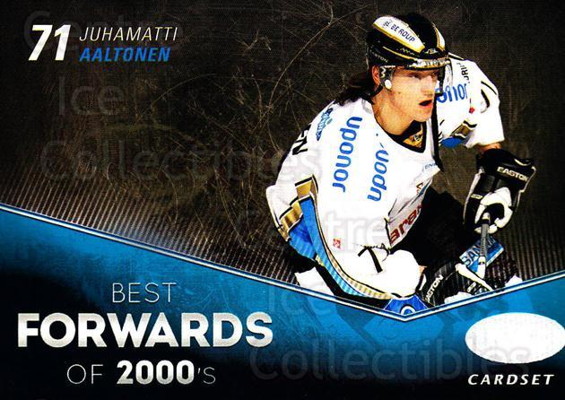 2012-13 Finnish Cardset Best Forwards of 2000's #9 Juhamatti Aaltonen<br/>2 In Stock - $3.00 each - <a href=https://centericecollectibles.foxycart.com/cart?name=2012-13%20Finnish%20Cardset%20Best%20Forwards%20of%202000's%20%239%20Juhamatti%20Aalto...&quantity_max=2&price=$3.00&code=660311 class=foxycart> Buy it now! </a>