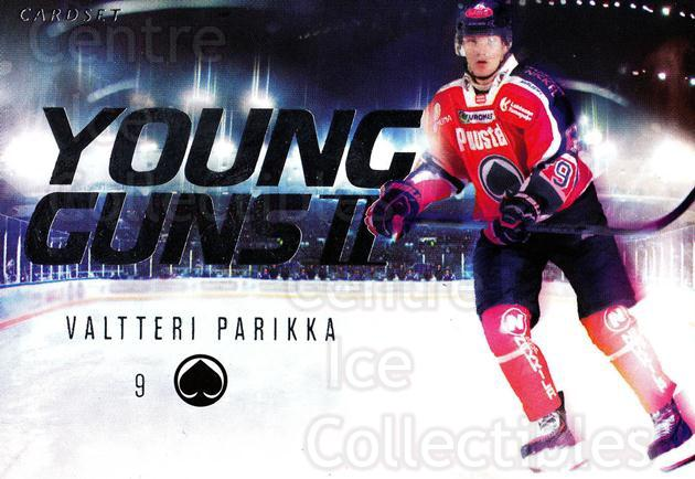 2013-14 Finnish Cardset Young Guns Series Two #2 Valtteri Parikka<br/>1 In Stock - $3.00 each - <a href=https://centericecollectibles.foxycart.com/cart?name=2013-14%20Finnish%20Cardset%20Young%20Guns%20Series%20Two%20%232%20Valtteri%20Parikk...&quantity_max=1&price=$3.00&code=660343 class=foxycart> Buy it now! </a>