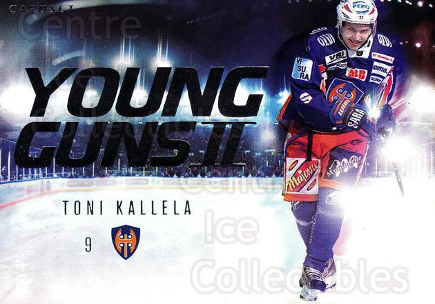 2013-14 Finnish Cardset Young Guns Series Two #8 Toni Kallela<br/>1 In Stock - $3.00 each - <a href=https://centericecollectibles.foxycart.com/cart?name=2013-14%20Finnish%20Cardset%20Young%20Guns%20Series%20Two%20%238%20Toni%20Kallela...&quantity_max=1&price=$3.00&code=660349 class=foxycart> Buy it now! </a>