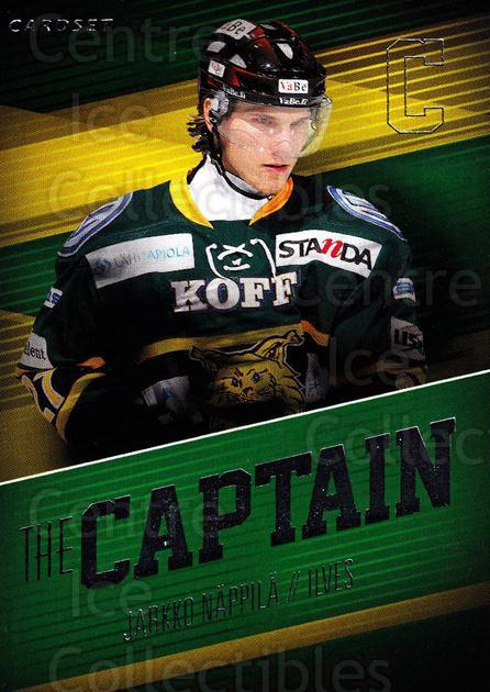 2013-14 Finnish Cardset The Captain #4 Jarkko Nappila<br/>3 In Stock - $3.00 each - <a href=https://centericecollectibles.foxycart.com/cart?name=2013-14%20Finnish%20Cardset%20The%20Captain%20%234%20Jarkko%20Nappila...&quantity_max=3&price=$3.00&code=660372 class=foxycart> Buy it now! </a>