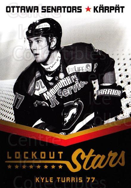 2013-14 Finnish Cardset Lockout Stars #1 Kyle Turris<br/>2 In Stock - $3.00 each - <a href=https://centericecollectibles.foxycart.com/cart?name=2013-14%20Finnish%20Cardset%20Lockout%20Stars%20%231%20Kyle%20Turris...&quantity_max=2&price=$3.00&code=660397 class=foxycart> Buy it now! </a>
