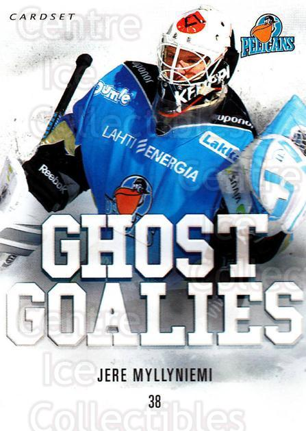 2014-15 Finnish Cardset Ghost Goalies #6 Jere Myllyniemi<br/>1 In Stock - $3.00 each - <a href=https://centericecollectibles.foxycart.com/cart?name=2014-15%20Finnish%20Cardset%20Ghost%20Goalies%20%236%20Jere%20Myllyniemi...&quantity_max=1&price=$3.00&code=660428 class=foxycart> Buy it now! </a>