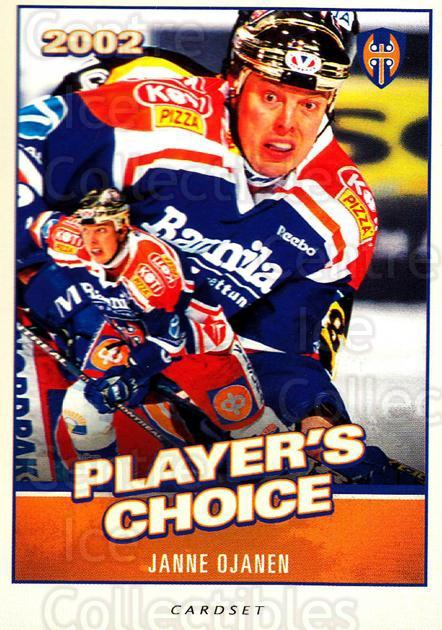2014-15 Finnish Cardset Players Choice #12 Janne Ojanen<br/>1 In Stock - $3.00 each - <a href=https://centericecollectibles.foxycart.com/cart?name=2014-15%20Finnish%20Cardset%20Players%20Choice%20%2312%20Janne%20Ojanen...&quantity_max=1&price=$3.00&code=660457 class=foxycart> Buy it now! </a>