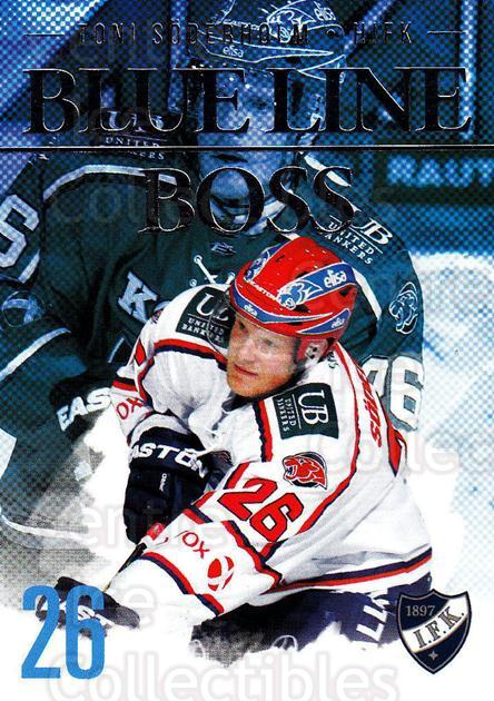 2014-15 Finnish Cardset Blue Line Boss #2 Toni Soderholm<br/>3 In Stock - $3.00 each - <a href=https://centericecollectibles.foxycart.com/cart?name=2014-15%20Finnish%20Cardset%20Blue%20Line%20Boss%20%232%20Toni%20Soderholm...&quantity_max=3&price=$3.00&code=660499 class=foxycart> Buy it now! </a>
