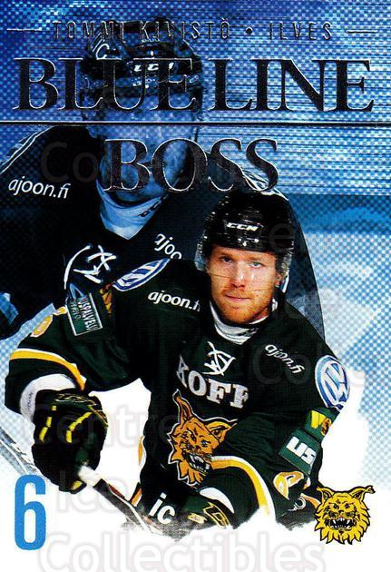 2014-15 Finnish Cardset Blue Line Boss #4 Tommi Kivisto<br/>2 In Stock - $3.00 each - <a href=https://centericecollectibles.foxycart.com/cart?name=2014-15%20Finnish%20Cardset%20Blue%20Line%20Boss%20%234%20Tommi%20Kivisto...&quantity_max=2&price=$3.00&code=660501 class=foxycart> Buy it now! </a>