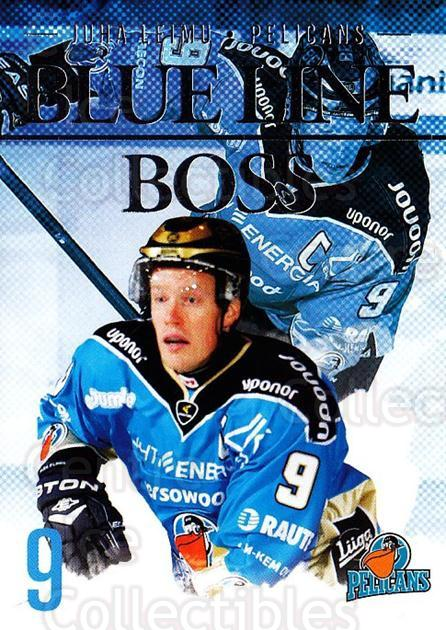 2014-15 Finnish Cardset Blue Line Boss #9 Juha Leimu<br/>1 In Stock - $3.00 each - <a href=https://centericecollectibles.foxycart.com/cart?name=2014-15%20Finnish%20Cardset%20Blue%20Line%20Boss%20%239%20Juha%20Leimu...&quantity_max=1&price=$3.00&code=660506 class=foxycart> Buy it now! </a>