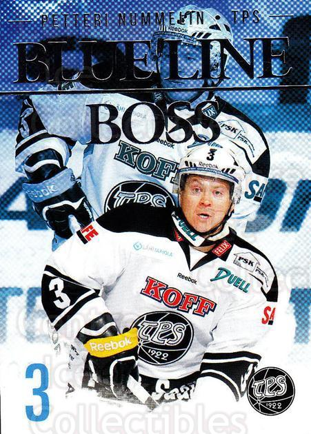 2014-15 Finnish Cardset Blue Line Boss #13 Petteri Nummelin<br/>1 In Stock - $3.00 each - <a href=https://centericecollectibles.foxycart.com/cart?name=2014-15%20Finnish%20Cardset%20Blue%20Line%20Boss%20%2313%20Petteri%20Nummeli...&quantity_max=1&price=$3.00&code=660510 class=foxycart> Buy it now! </a>