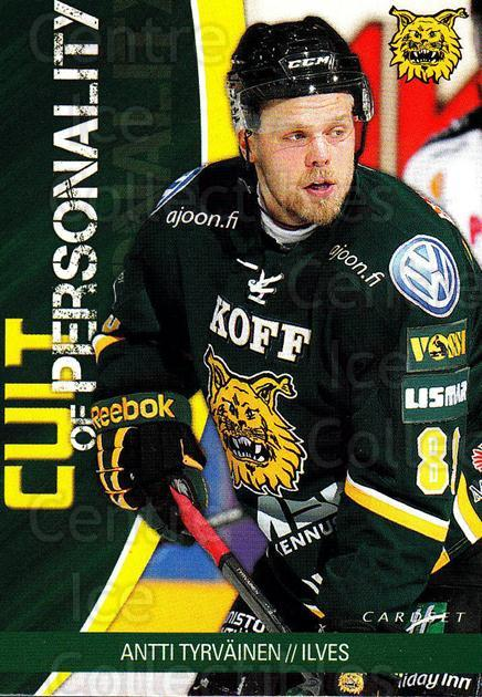 2014-15 Finnish Cardset Cult of Personality #4 Antti Tyrvainen<br/>2 In Stock - $3.00 each - <a href=https://centericecollectibles.foxycart.com/cart?name=2014-15%20Finnish%20Cardset%20Cult%20of%20Personality%20%234%20Antti%20Tyrvainen...&quantity_max=2&price=$3.00&code=660515 class=foxycart> Buy it now! </a>