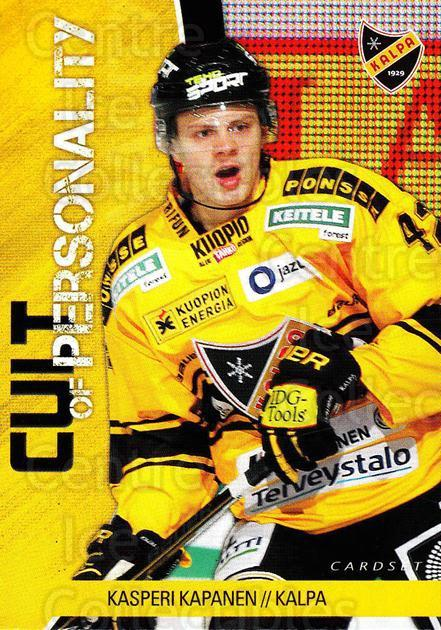 2014-15 Finnish Cardset Cult of Personality #6 Kasperi Kapanen<br/>1 In Stock - $3.00 each - <a href=https://centericecollectibles.foxycart.com/cart?name=2014-15%20Finnish%20Cardset%20Cult%20of%20Personality%20%236%20Kasperi%20Kapanen...&quantity_max=1&price=$3.00&code=660517 class=foxycart> Buy it now! </a>