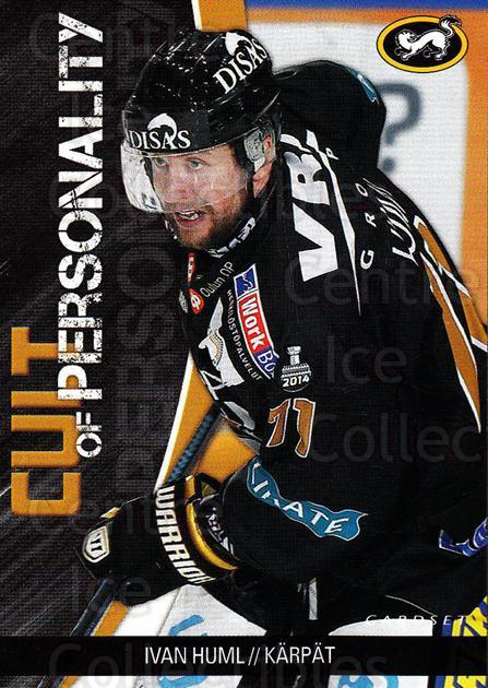2014-15 Finnish Cardset Cult of Personality #7 Ivan Huml<br/>1 In Stock - $3.00 each - <a href=https://centericecollectibles.foxycart.com/cart?name=2014-15%20Finnish%20Cardset%20Cult%20of%20Personality%20%237%20Ivan%20Huml...&quantity_max=1&price=$3.00&code=660518 class=foxycart> Buy it now! </a>